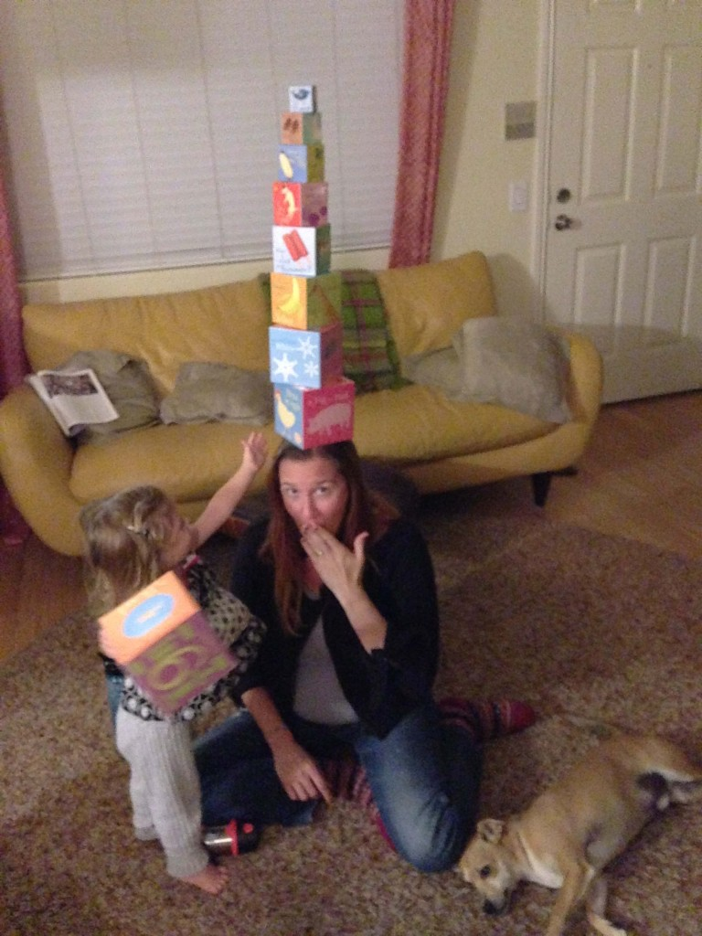 We're just stacking blocks here!