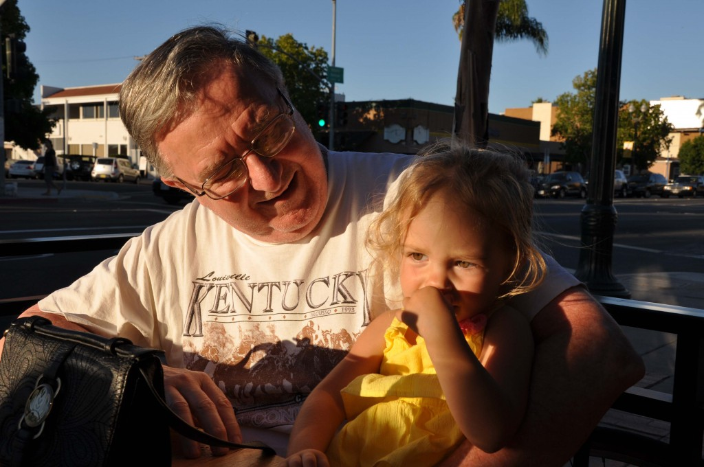 My favorite of Grandpops and L.L. (at Soda and Swine).