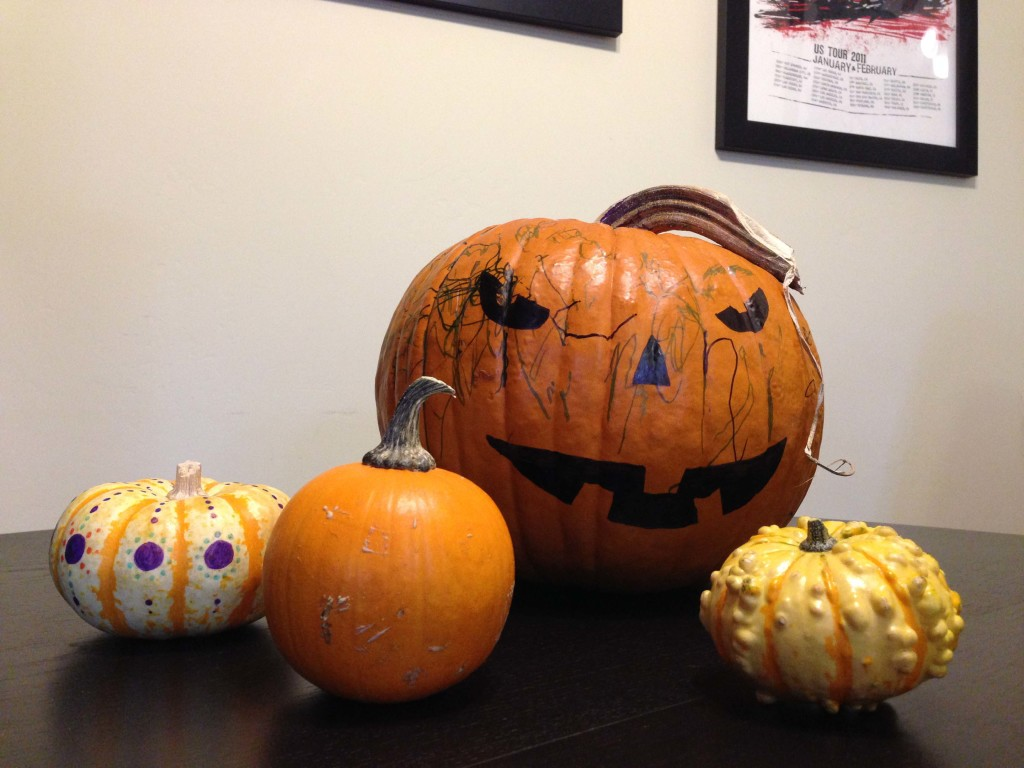 Our Decorated Pumpkins