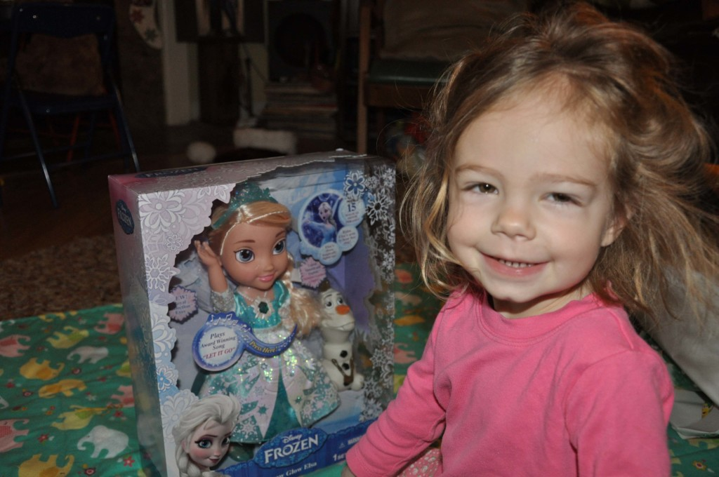 Frozen Singing Elsa Doll (this thing is SO LOUD - why don't these kids toys have a volume button that only parents can get to?)
